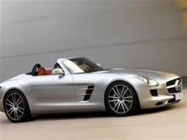 Mercedes Classe SLS: ali di gabbiano