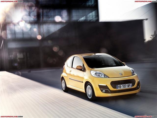 Peugeot 107: la citycar parigina