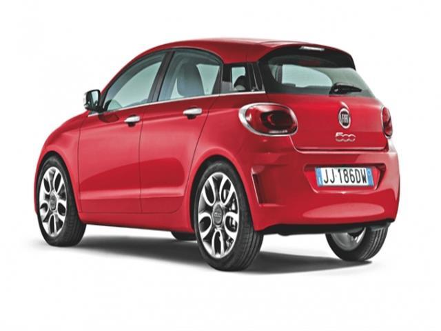 Fiat 500 5 porte sarà l'erede della Punto