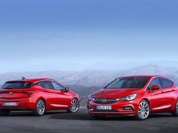 Opel Astra 2015: novità nel segmento C