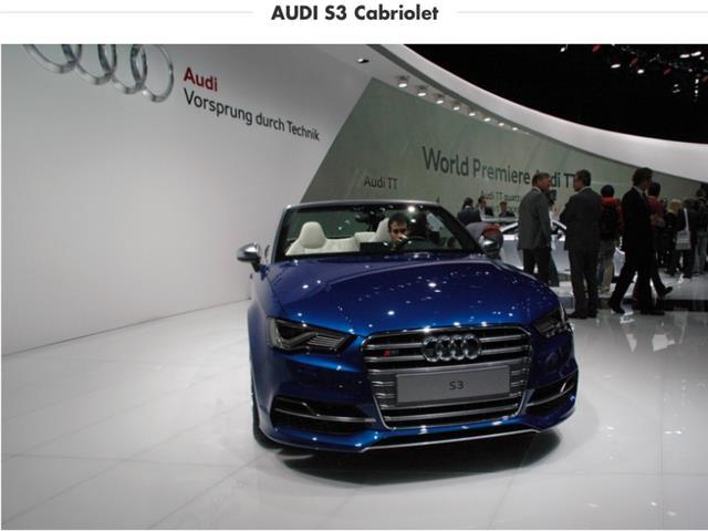 Audi S3 Cabrio: un vero un sogno a cielo aperto