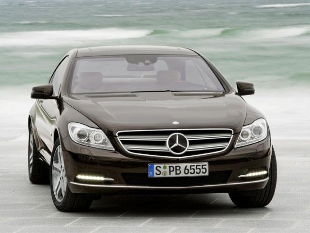Mercedes Classe CL: una coupé di carattere