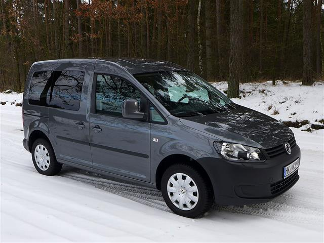 Volkswagen Caddy: ideale per il tempo libero