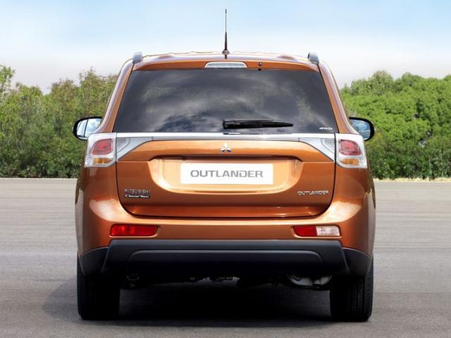 Mitsubishi Outlander per il mercato crossover