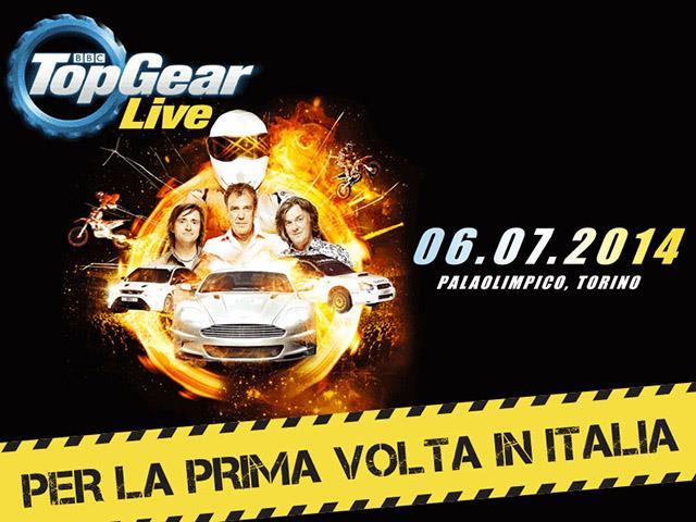 Top Gear approda live a Torino